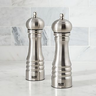 Professional Salt & Pepper Mill Set