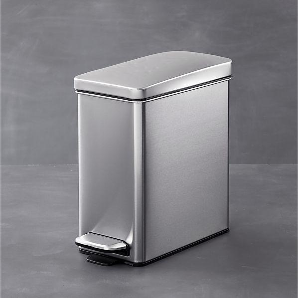 simplehuman ® Profile 2.6-Gallon Step Trash Can