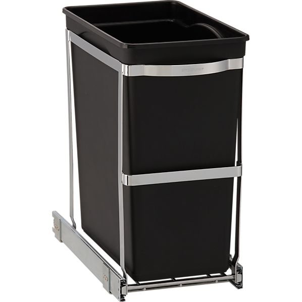 simplehuman ® Pull Out Trash Can