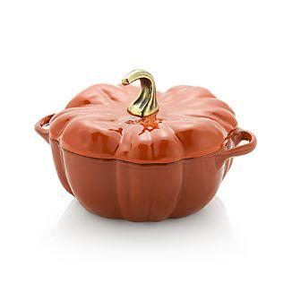 Staub ® 3.5-qt Enamel Cast Iron Pumpkin Cocotte