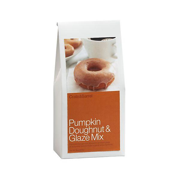 Pumpkin Doughnut & Glaze Mix