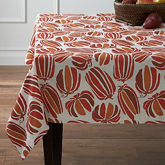 "Pumpkin Patch 60""x120"" Tablecloth"