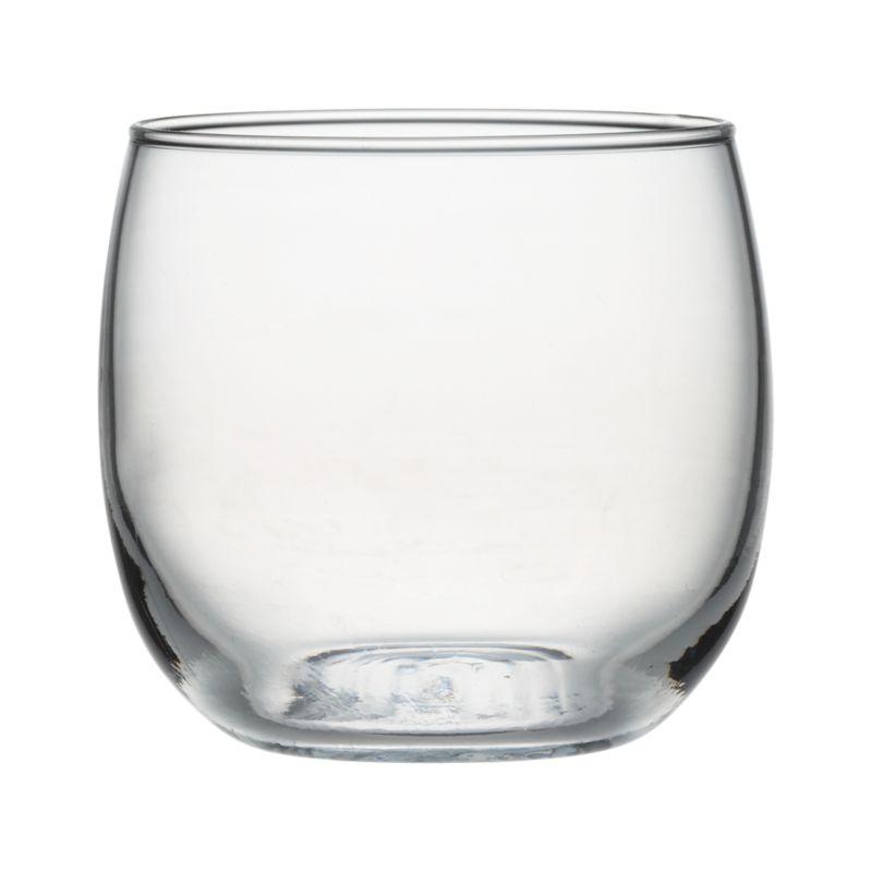 Modern, handle-free cup is designed for serving up punch, but versatile enough for everyday juice, cocktails or wine.<br /><br /><NEWTAG/><ul><li>Dishwasher-safe glass</li><li>Made in Mexico</li></ul>