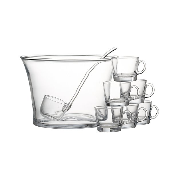10-Piece Punch Party Bowl Set