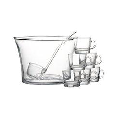 10-Piece Punch Party Bowl Set