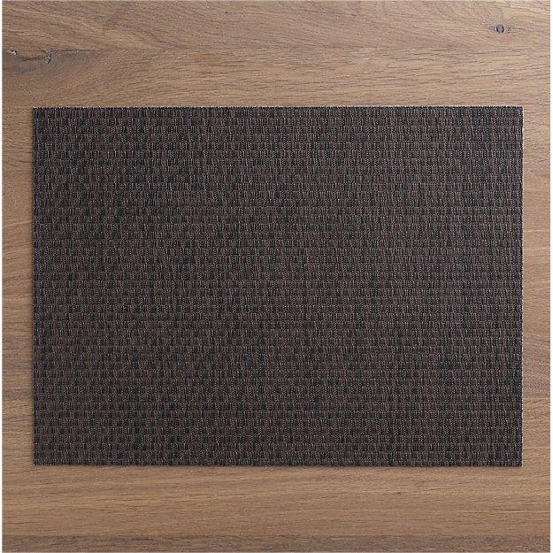 Chilewich ® Purl Bronze Vinyl Placemat