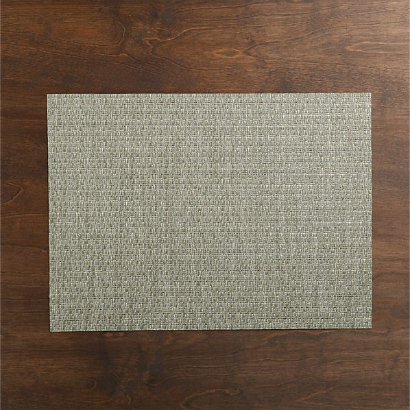 Chilewich ® Purl Silver Vinyl Placemat