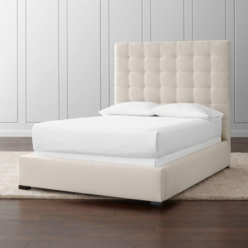 Quadrant Upholstered Full Bed