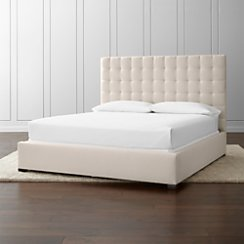 Quadrant Upholstered King Bed