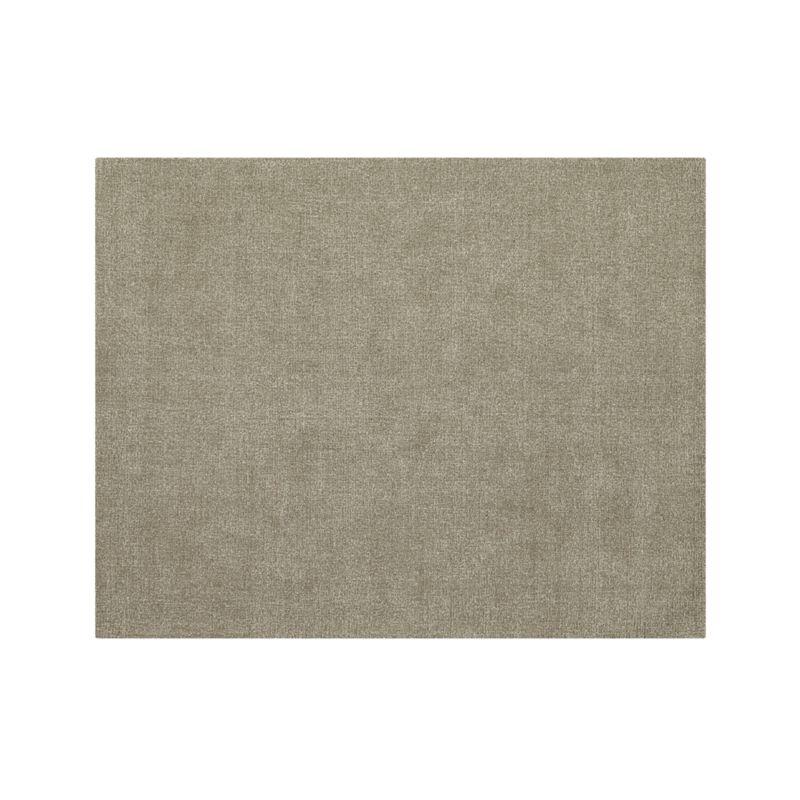 Quinn Taupe Wool 8'x10' Rug