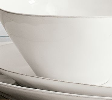 Dinnerware edges