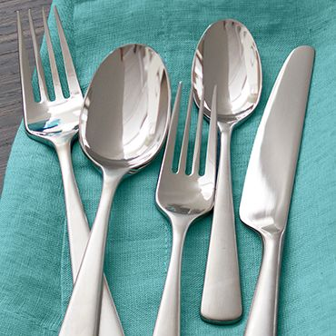 Silverware place setting