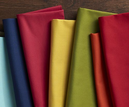 Colorful table linens