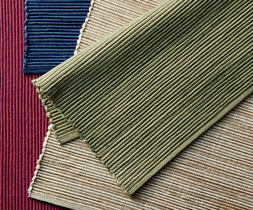 Textured placemats