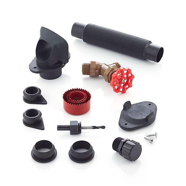 Rain Barrel Diverter Kit