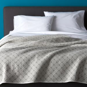 Raj Grey Full-Queen Reversible Quilt