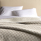 Raj Khaki Full-Queen Reversible Quilt.
