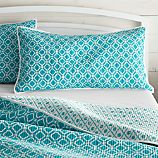Raj Reversible Brght Blue King Sham