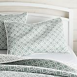 Raj Reversible Light Blue Standard Sham