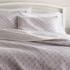 Raj Reversible Purple Full/Queen Quilt