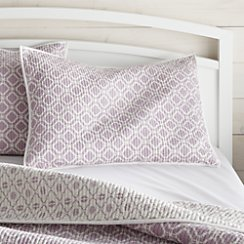 Raj Reversible Purple Standard Sham