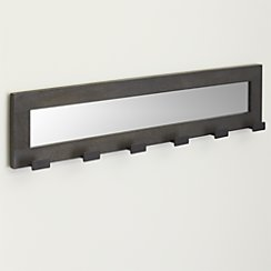 Rand Wall Mounted Coat Rack and Mirror