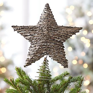 Rattan Star Tree Topper