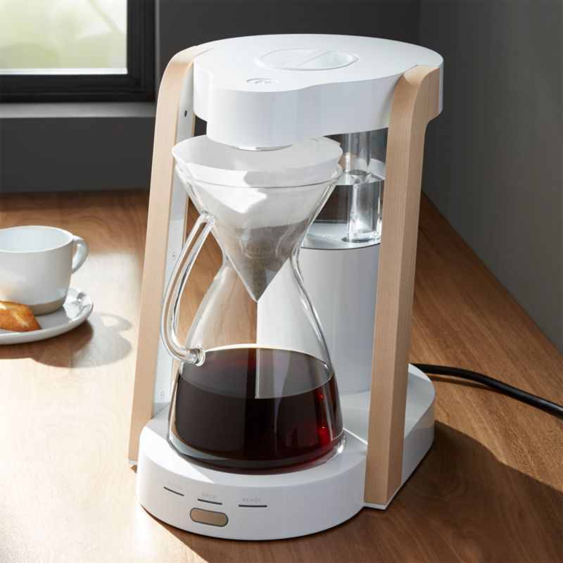 Ratio 8 Coffee Maker Review : Ratio Eight White 8-Cup Coffee Maker Crate and Barrel