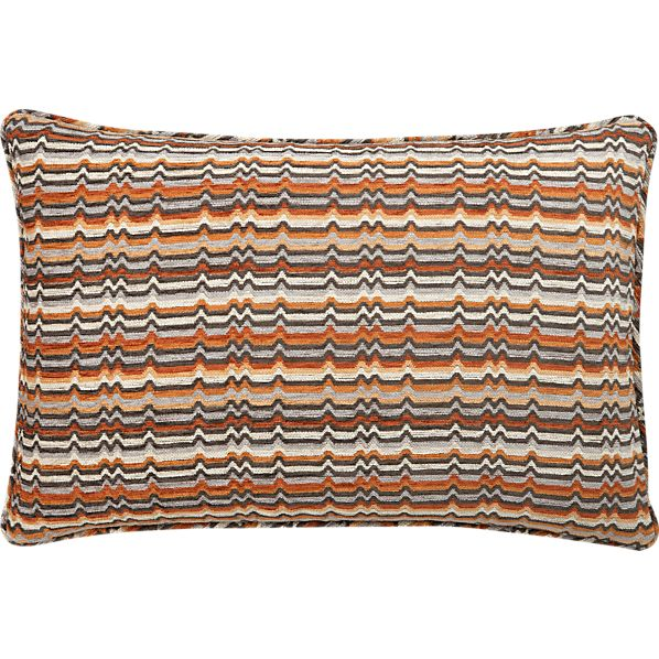 "Ravel Mango 24""x16"" Pillow"