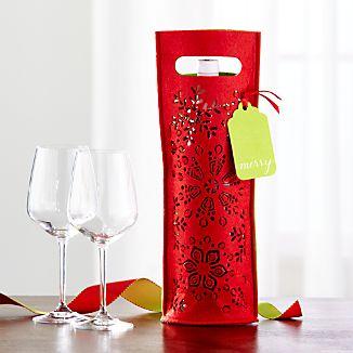 Felt Wine/Champagne Gift Bag
