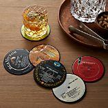 Set of 6 Record Coasters