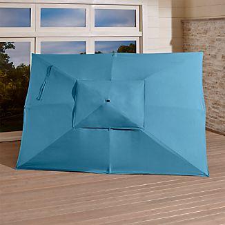 Rectangular Sunbrella ® Turkish Tile Umbrella Canopy