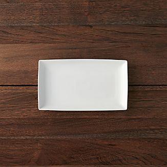 """Rectangular 10""""x5.75"""" Appetizer Plate"""