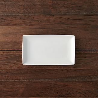 "Rectangular 10""x5.75"" Appetizer Plate"