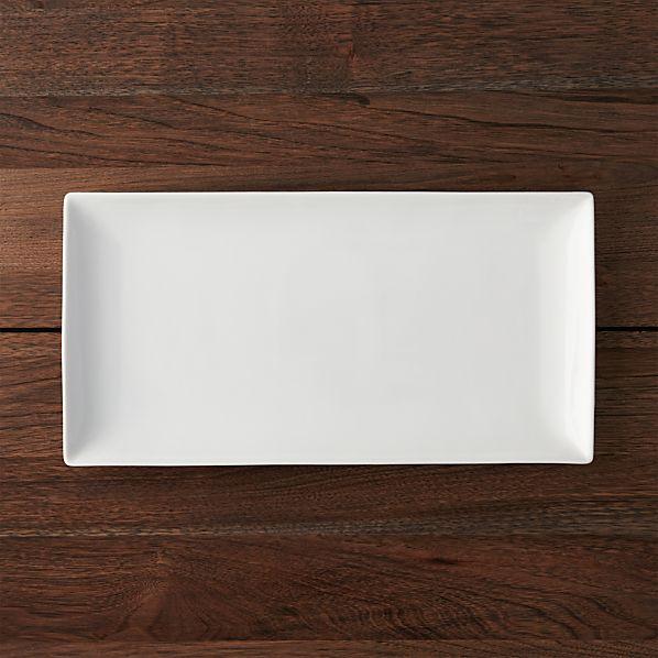 "Rectangle 15""x7.75"" Platter"
