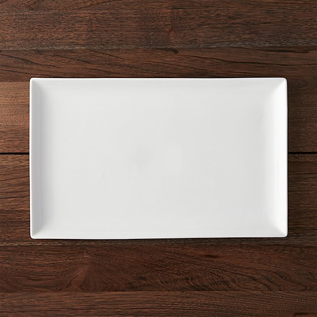 """Rectangular 16.5""""x10.25"""" Platter"""