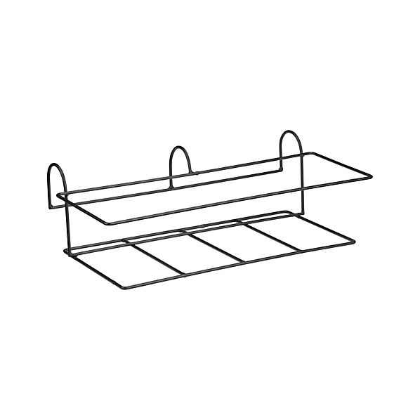 Zinc Rectangular Rail Planter Hook