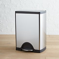 simplehuman ® 30-Liter/8-Gallon Stainless Steel Rectangular Step Can