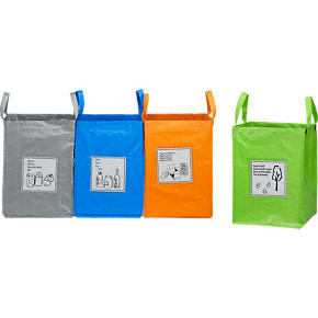 Set of 4 Recycling Bags
