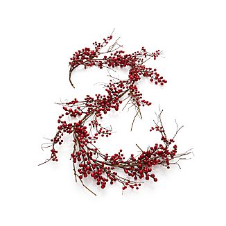 Red Berry Artificial Garland