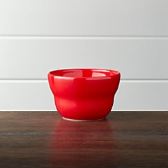 "Red 4"" Bowl"