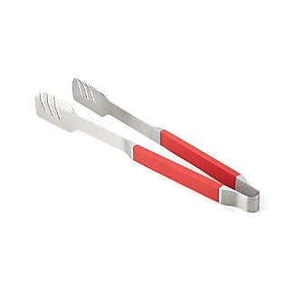 Red Grip BBQ Tongs