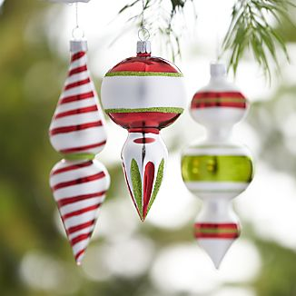 Retro Drop Ornaments