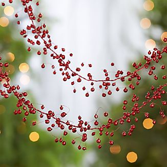 Red Jingle Bells Garland