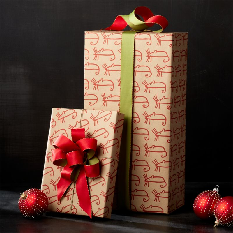 Sugar Mouse Kraft Wrapping Paper