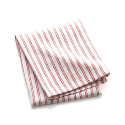 Red Stripe Dishtowel