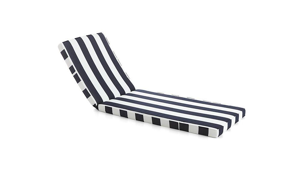 Regatta sunbrella chaise lounge cushion sunbrella for Cabana chaise lounge