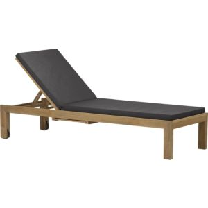Regatta Chaise Lounge with Sunbrella® Charcoal Cushion