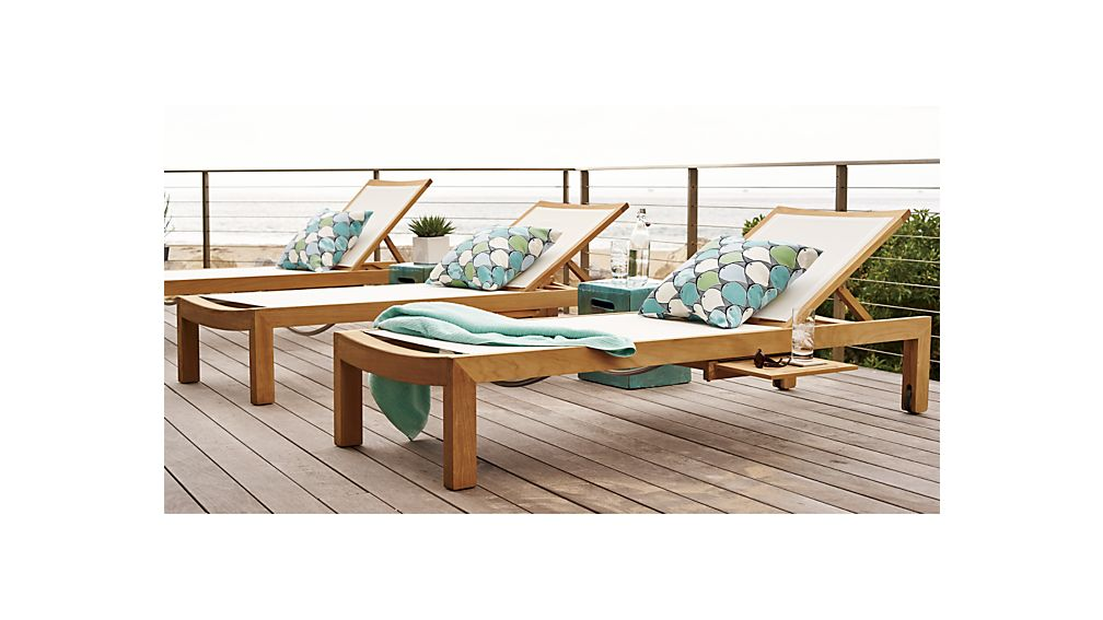Regatta Mesh Chaise Lounge