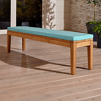 Regatta Dining Bench with Sunbrella ® Cushion